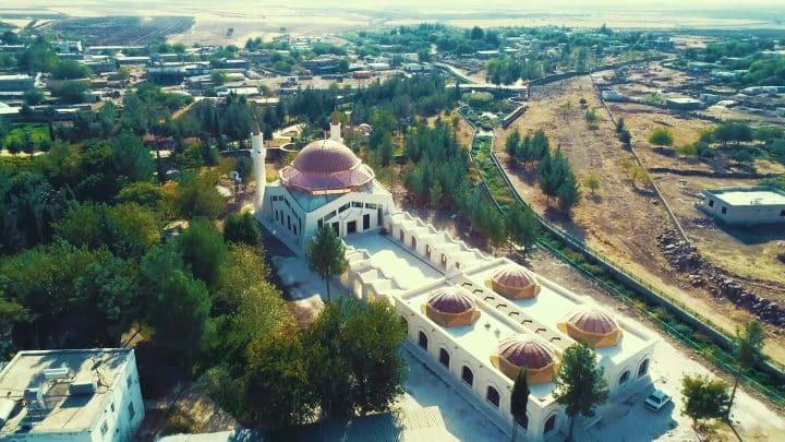 Eyüp Nebi Camii'si inşaatı tamamlandı  Urfa Gündemi