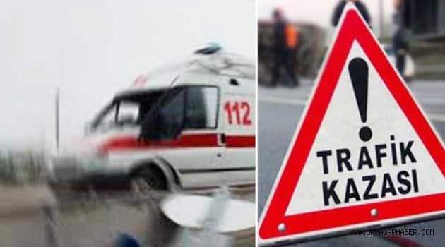 Şanlıurfa Antep karayollunda trafik kazası