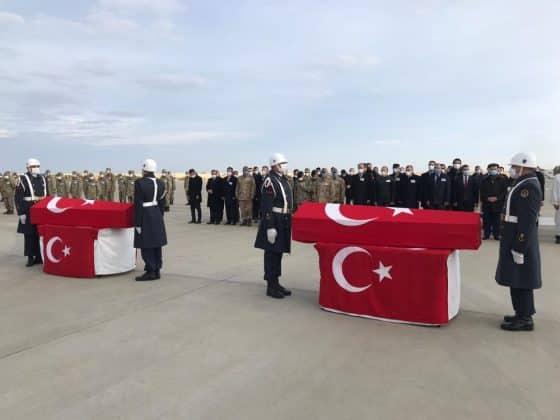 Şehit askerler törenle memleketlerine uğurlandı Urfa Haber