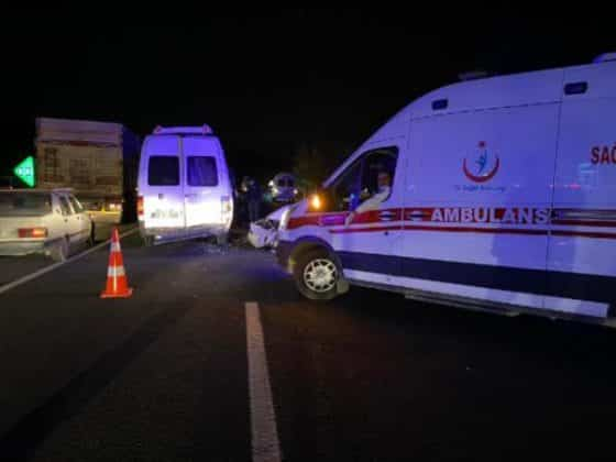 Şanlıurfa'da zincirleme kaza Urfa Haber