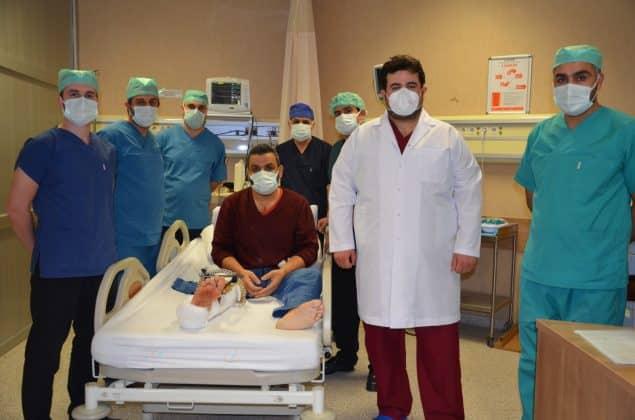 Şanlıurfa'da ilk damarlı kemik doku nakli yapıldı Urfa Haber