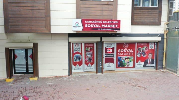 Karaköprü sosyal marketten 5 ayda 3 bin aile yararlandı Urfa Gündemi