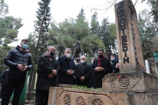 Kazancı bedih ölümünün 17. yılında mezarı başında anıldı  Urfa Gündemi