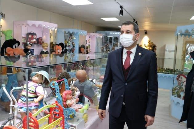 Başkan baydilli den çocuklara davet