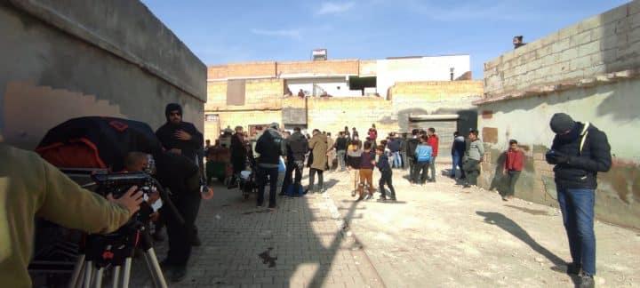 Libya halkının İŞİD ile mücadelesi Suruç'ta dizi olarak çekiliyor Urfa Haber