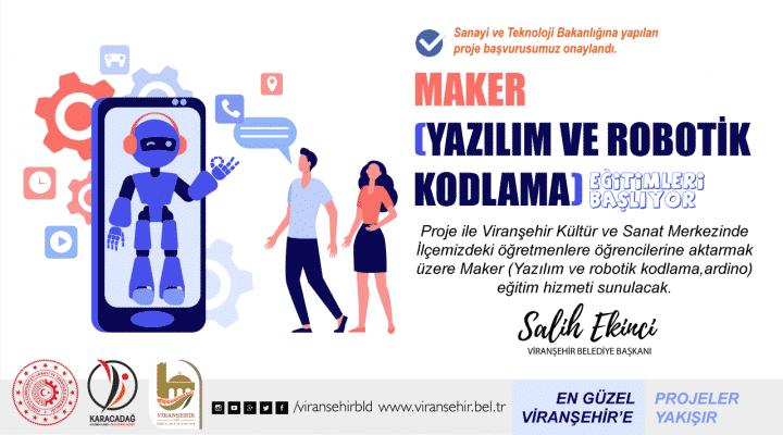 Viranşehir'de öğretmenlere yazılım eğitimi verilecek  Urfa Gündemi