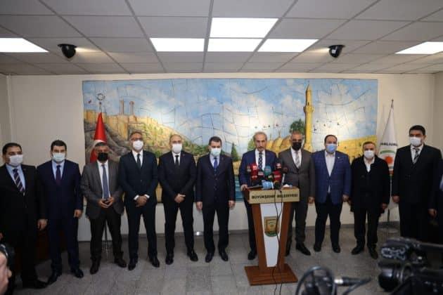 İlçe Belediye Başkanlarından Beyazgül'e Destek Urfa Haber