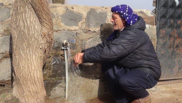 Büyükşehir sayesinde su sorunları çözüldü Urfa Gündemi
