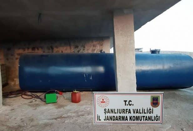 12 bin 800 litre kaçak akaryakıt ele geçirildi Urfa Haber