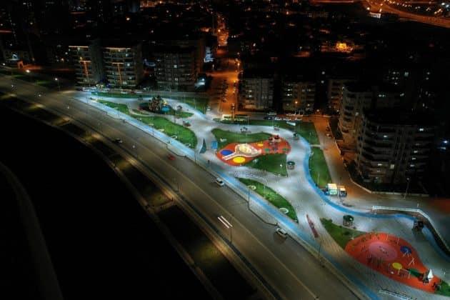 Kimlikli parklar haliliyeye renk kattı Urfa Haber