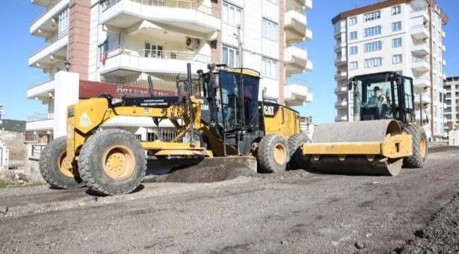 Doğukente yol yapımında sona yaklaşıldı Urfa Haber