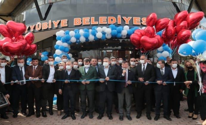 Eyyübiye belediyesi aile otaği'nin açilişini gerçekleştirdi.