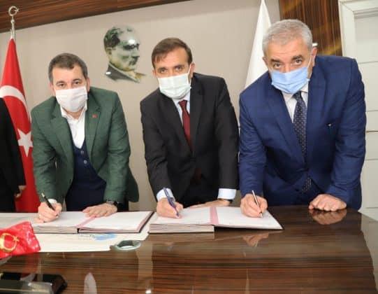 Karaköprüde Orman okulu projesi için imzalar atıldı