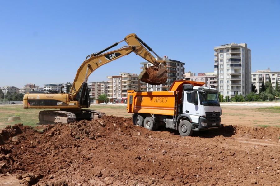 Karaköprü Atakent mahallesine yeni yol yapımı