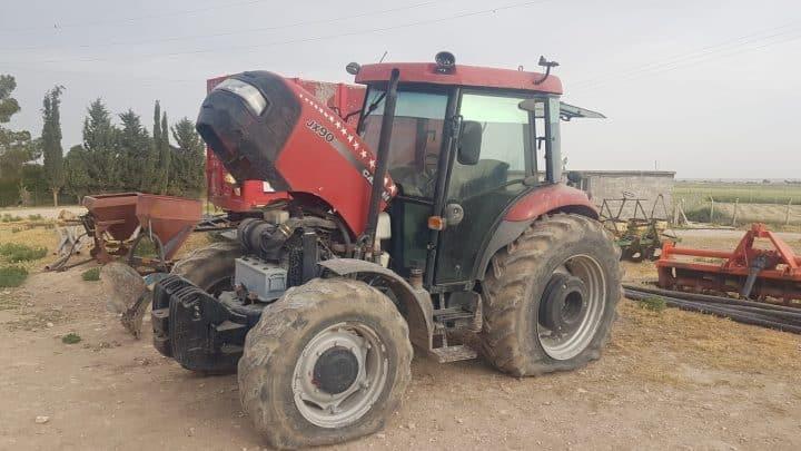 Konya'da çalınan traktörü JASAT, Suruç'ta buldu