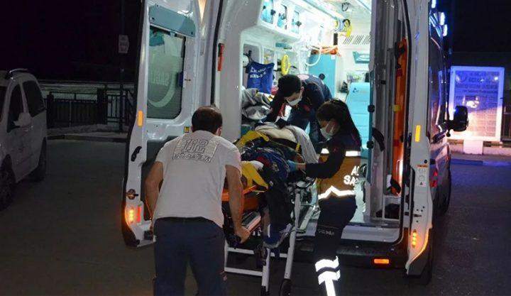 Urfalı Tarım İşçileri  Taşıyan Minibüs Kaza Yaptı; 16  İşçi Yaralı