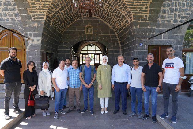 Başkan Ayşe Çakmak basın mensuplarıyla bir araya geldi Haberler