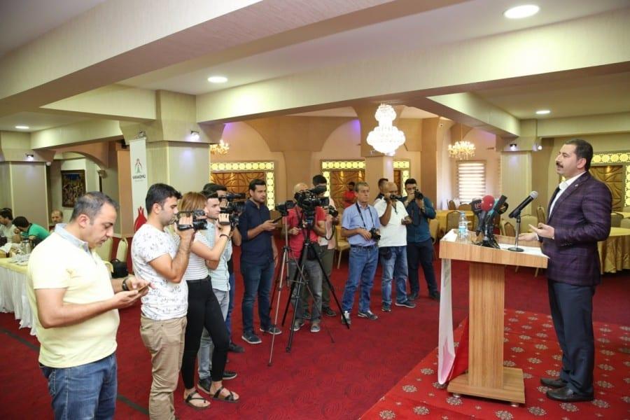 Baydilli'den Gazeteciler ve Basın Bayramı mesajı Haberler