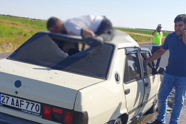 Suruç yolunda korkunç kaza